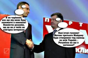 попрошенко Кличко